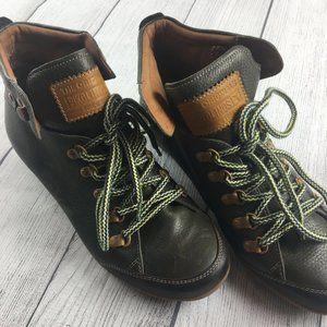 Pikolinos Ankle Boots Kaki Lisboa W67-7667 size 8